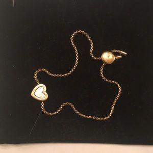 Michael Kors Gold Heart Bracelet